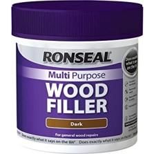 Ronseal Multi Purpose Wood Filler 250ml Dark