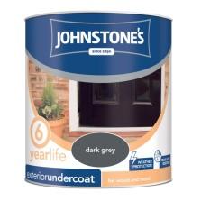 Johnstones Exterior Undercoat 750ml Dark Grey