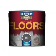Johnstone's Garage Floor Paint 2.5L Dark Grey