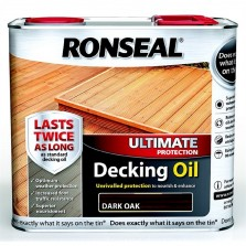 Ronseal Ultimate Protection Decking Oil 2.5L Dark Oak