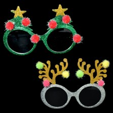 Christmas Deluxe Party Glasses