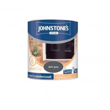 Johnstones Weatherguard Exterior Undercoat 750ml Dark  Grey