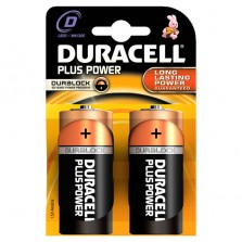 Duracell Plus Power D Batteries (2 Pack)