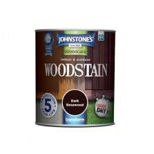 Johnstones Indoor & Outdoor Wood Stain 2.5L Dark Rosewood