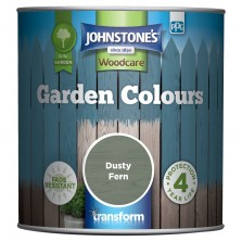 Johnstones Garden Colours Paint 1L Dusty Fern