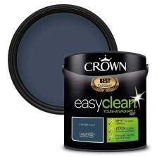Crown Easyclean Paint 2.5l Midnight Navy