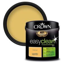 Crown Easyclean Paint 2.5l Mustard Jar