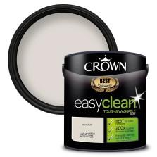 Crown Easyclean Paint 2.5l Snowfall