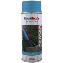 Plasti-Kote Garden Colours Spray Paint 400ml Sea View