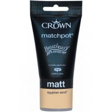 Crown Tester Pot 40ml Egyptian Sand Matt