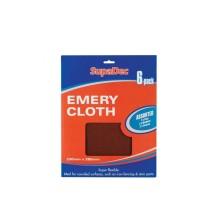 Supadec Assorted Emery Cloths (6 Pack)