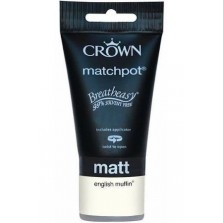 Crown Tester Pot 40ml English Muffin Matt