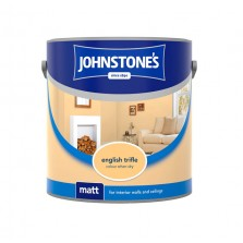 Johnstones Vinyl Emulsion Paint 2.5L English Trifle (Matt)