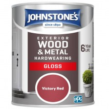 Johnstones Exterior Gloss 2.5L Victory Red