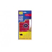 151 Exterior Sticky Pads (80 Pack)