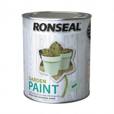 Ronseal Garden Paint 750ml Mint