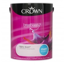 Crown Emulsion Paint 5L Fairy Dust Matt