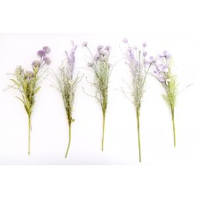 Artificial Purple Wild Flowers - Assorted