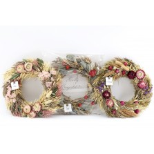 Scented Dried Floral Wreath