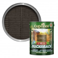 Cuprinol 5 Year Ducksback 5L Forest Oak