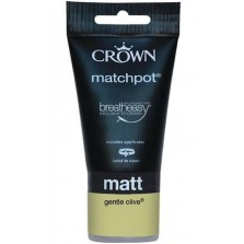 Crown Tester Pot 40ml Gentle Olive Matt