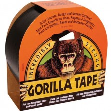 Gorilla Tape 48mm x 11m Black