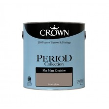Crown Period Colours Emulsion Paint 2.5L Gramaphone (Matt)