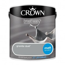 Crown Emulsion Paint 2.5L Granite Dust Matt