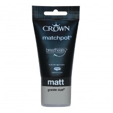 Crown Tester Pot 40ml Granite Dust (Matt)