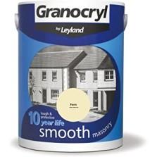 Leyland Granocryl Smooth Masonry Paint 5L Fern