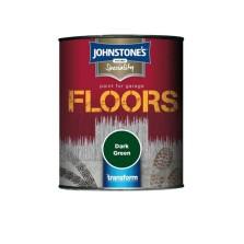 Johnstone's Garage Floor Paint 250ml Dark Green