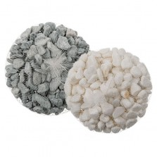 Decorative Grey/White Stones
