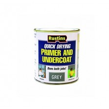Rustins Quick Dry Primer & Undercoat 500ml Grey
