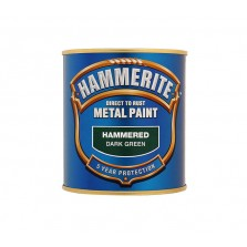 Hammerite Metal Paint 250ml Hammered Dark Green