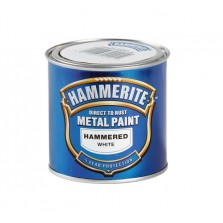 Hammerite Metal Paint 750ml Hammered White