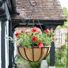 14in Forge Hanging Basket
