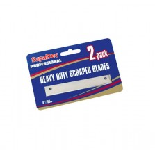 "Supadec Heavy Duty 4"" Angled Scraper Blades (2 Pack)"