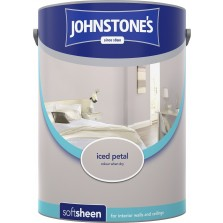 Johnstones Vinyl Emulsion Paint 5L Iced Petal Soft Sheen