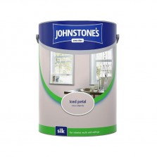 Johnstones Vinyl Emulsion Paint 5L Iced Petal Silk