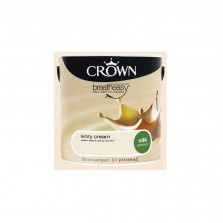 Crown Emulsion Paint 5L Ivory Cream Silk