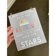 Rainbows Plaque