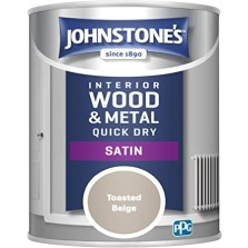 Johnstones Satin Paint 750ml Toasted Beige