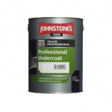 Johnstones Trade Professional Undercoat 1L Brilliant White
