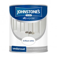 Johnstones All Purpose Undercoat 1.25L Brilliant White