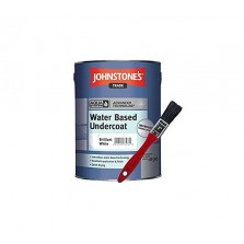 Johnstones Trade Aqua Water Based Undercoat 1L Brilliant White