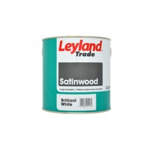 Leyland Satinwood Paint 2.5L Brilliant White