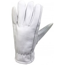 Kew Gardens Lined Leather Gloves Large