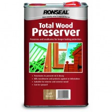Ronseal Total Wood Preserver 2.5L Light Brown