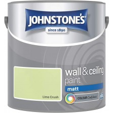 Johnstones Vinyl Emulsion Paint 2.5L Lime Crush Matt