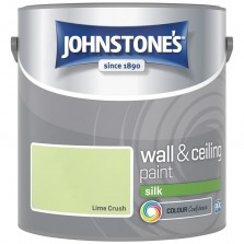 Johnstones Vinyl Emulsion Paint 2.5L Lime Crush Silk